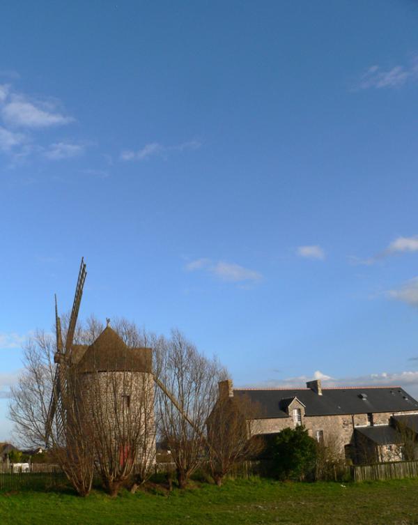 Moulin et Maison du Terroir à Cherrueix (35)