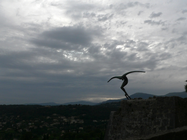 Sculpture à St-Paul de Vence