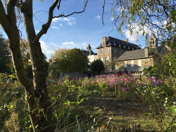 Nantes: le parc des Oblates / biodiversité et vue sur la Loire
