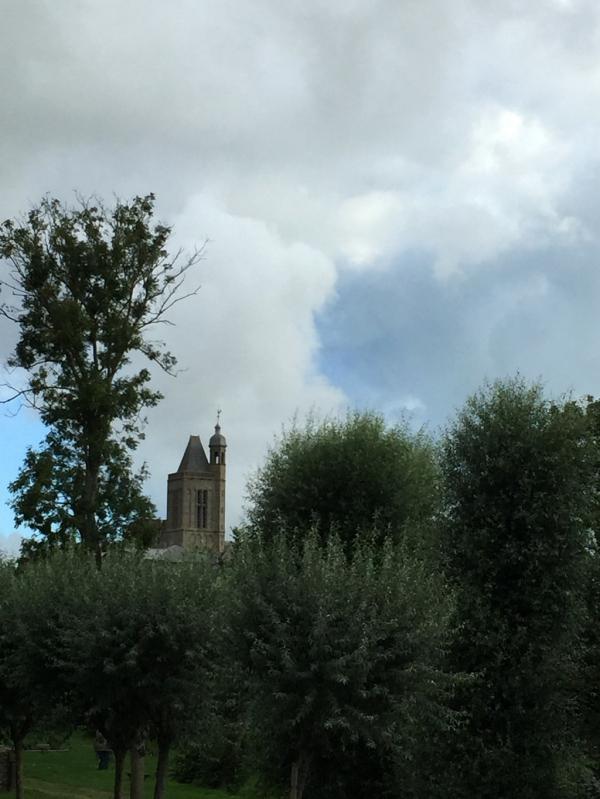 Le clocher de la cathédrale de Dol de Bretagne