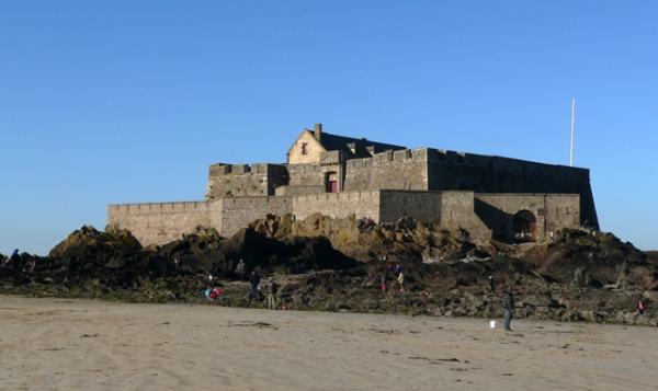 Le Fort National à Saint-Malo le 18-02-15
