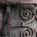 Coustouges (66)- porte de l'église