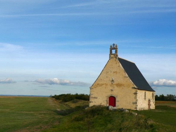 La chapelle Sainte-Anne à Saint-Broladre (35)