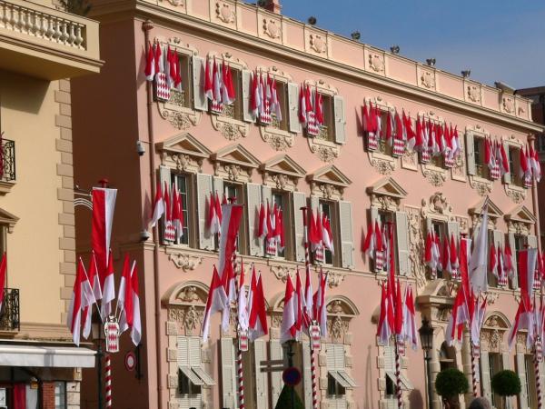 Le palais à Monaco