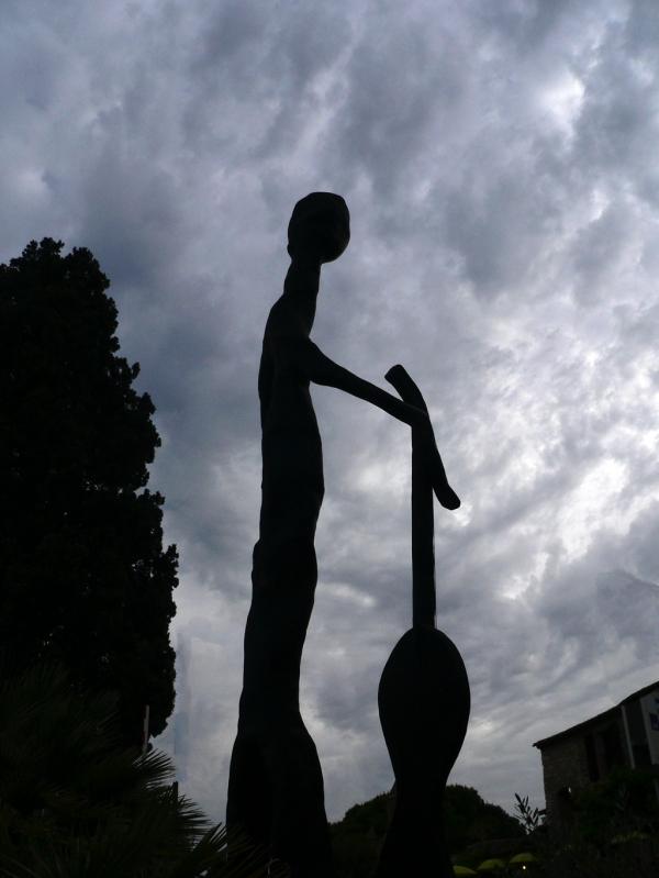 Sculpture à St Paul de Vence