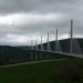 Le viaduc de Millau sous la grisaille