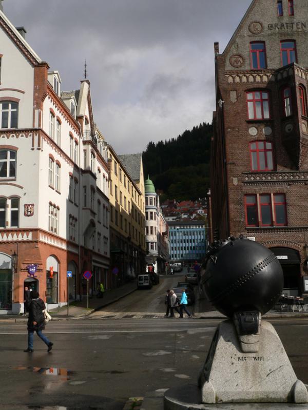 Le vieux quartier de Bergen