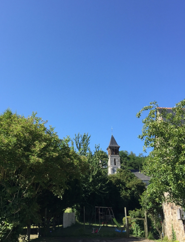 Clocher- Eglise du Mont-Dol (35)- Baie du Mt-St-Michel