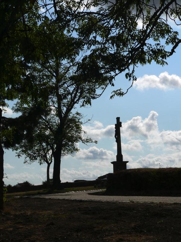 Calvaire près de la chapelle Saint-Fiacre à Le Faouët