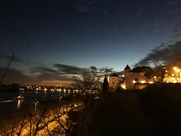 Nantes, le long des quais