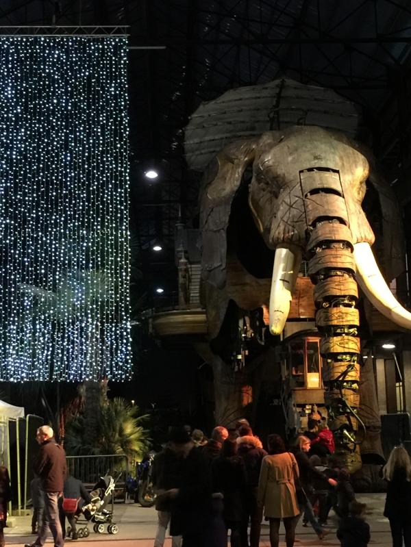 Les machines de l'île à Nantes- L'éléphant