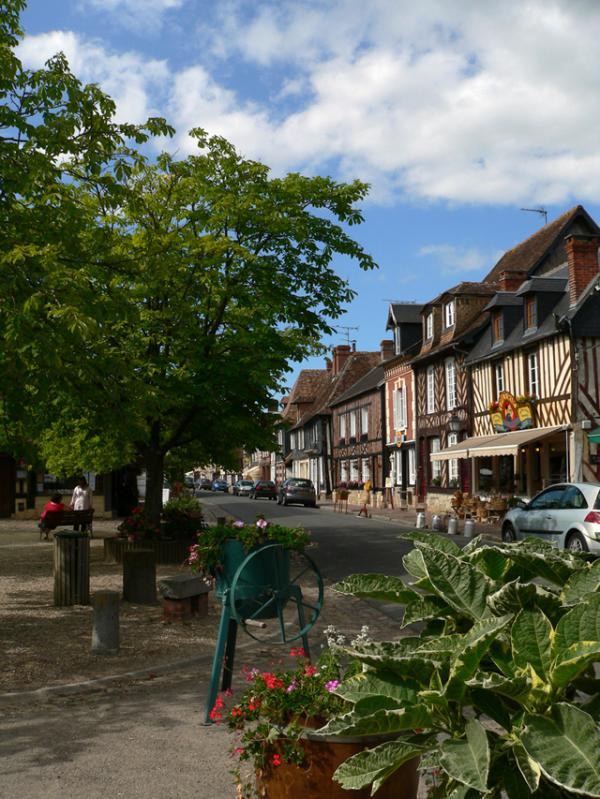 Beuvron en Auge- un des plus beaux Villages de France