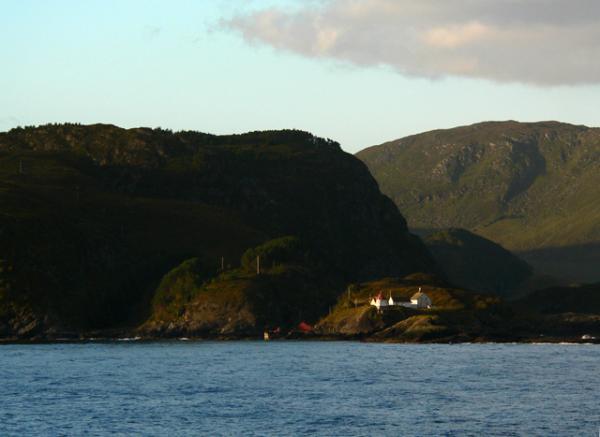 le long de la côte norvégienne