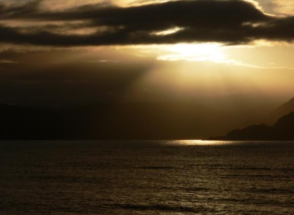 Orage en mer de Norvège