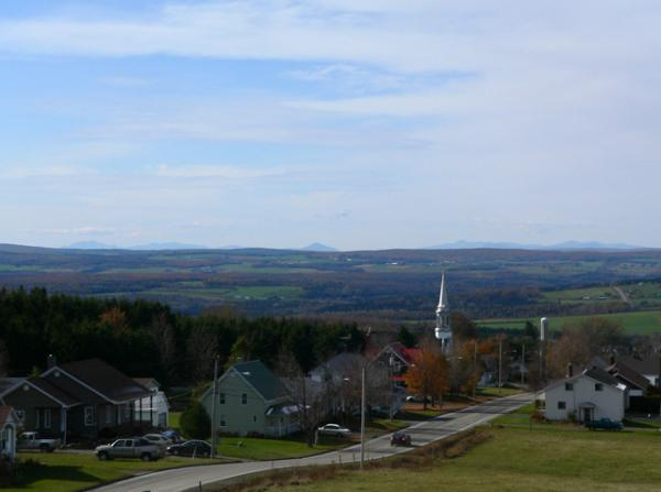 Dans les cantons de l'Est (Québec)