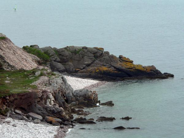 sur la côte bretonne