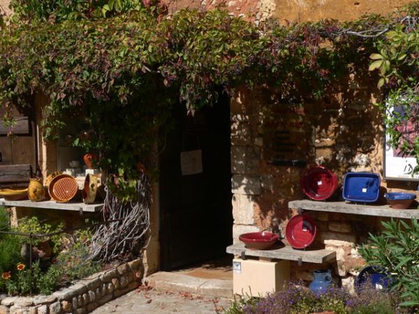 Poteries à Roussillon (Luberon)