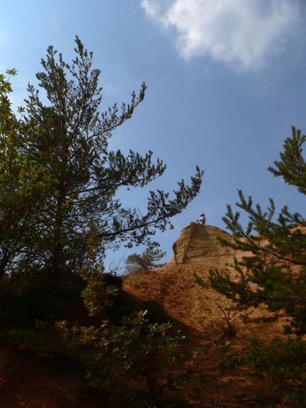 Rêveries dans le Colorado du Luberon