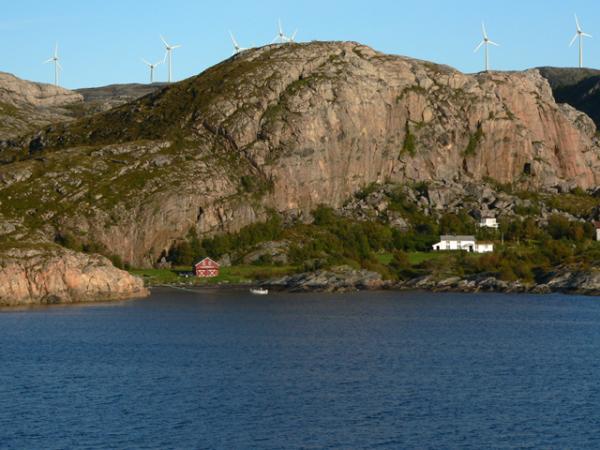 Eoliennes norvégiennes