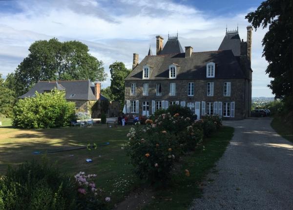Le château Grand Val à Combourg (35)- Bretagne romantique