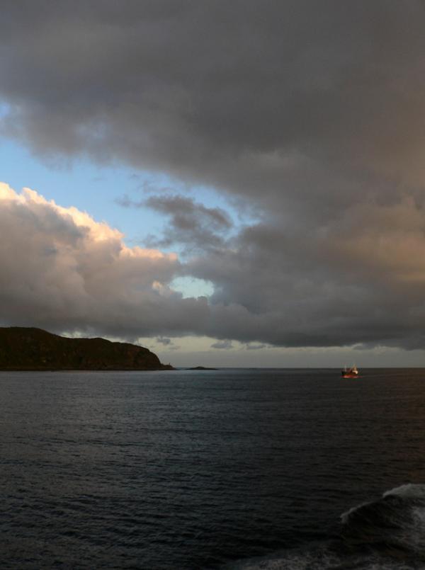 Norvège- en mer
