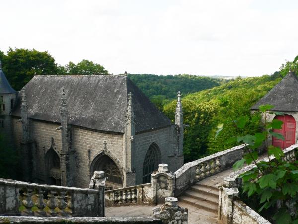Chapelle Sainte-Barbe à Le Faouët