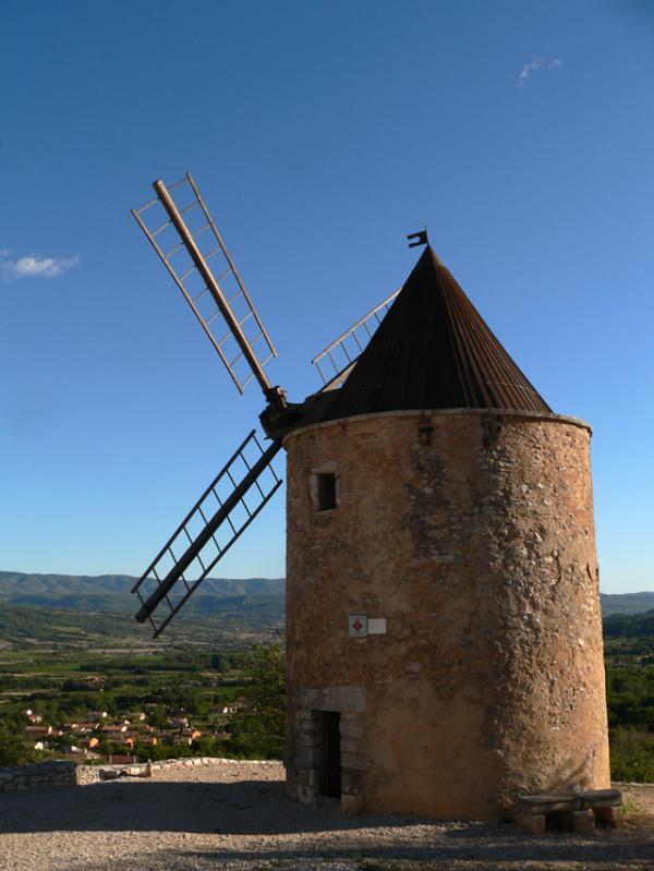 Le moulin de St-Saturnin les Apt