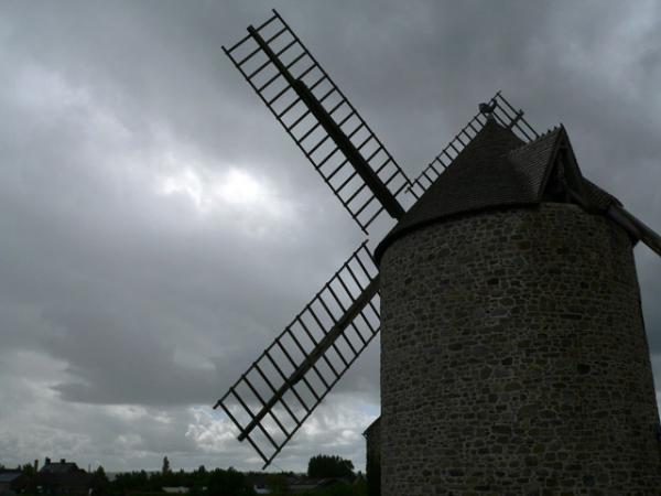 Gris. moulin de Cherrueix