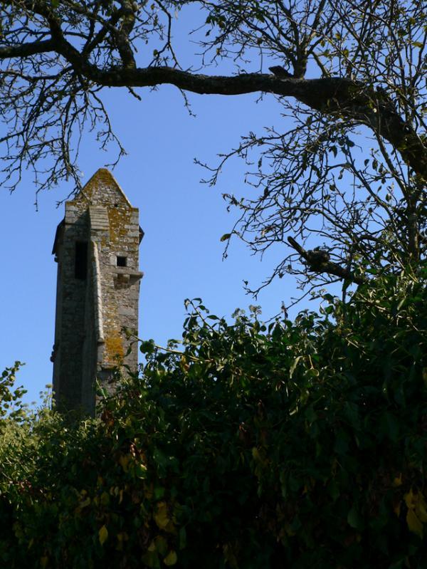 Tour Bregain (ancien prieuré)- La Boussac (35)