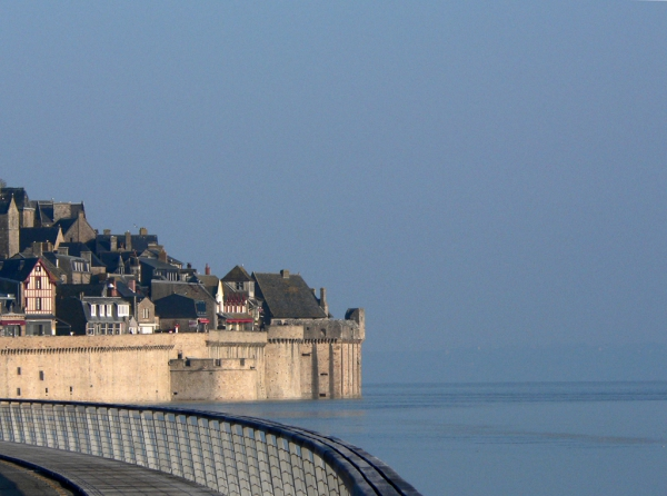 La grande marée au Mt-St-Michel