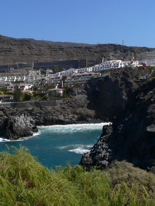 au pied de Los Gigantes (Tenerife)