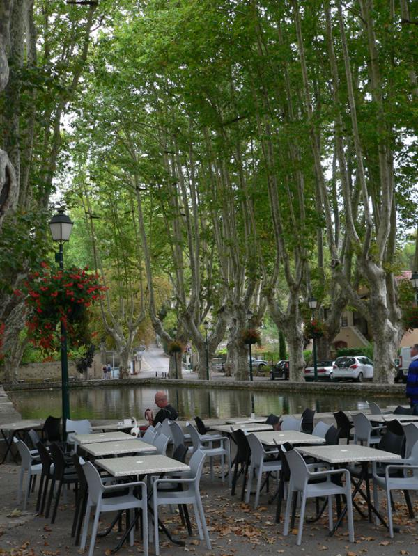 Espace de repos dans le Luberon