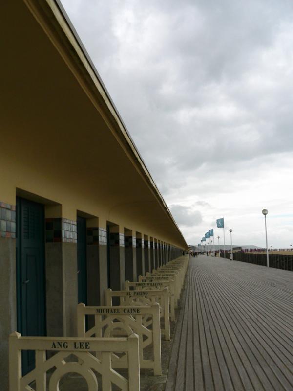 Deauville, les planches....