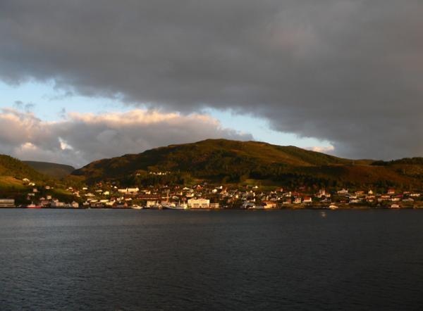 Départ de Bergen