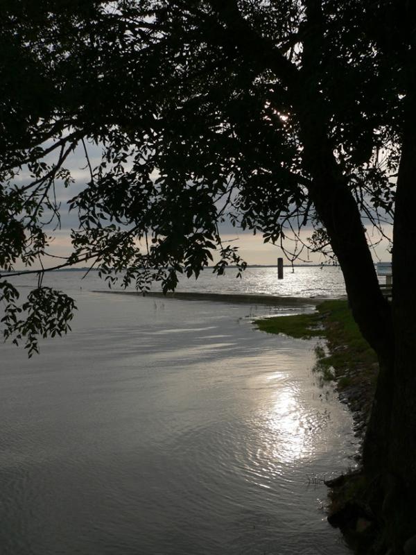 Reflets sur la Gironde