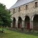 Une partie du cloitre de l'abbaye du Tronchet (35)