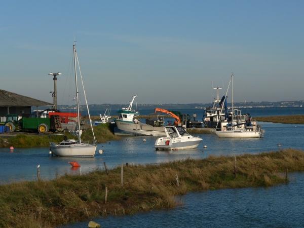 Le port du Vivier sur mer ce 29 septembre