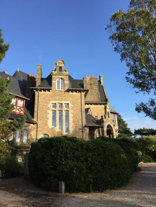 """Château Richeux et Table """"Le Coquillage"""", chez O. Roellinger"""
