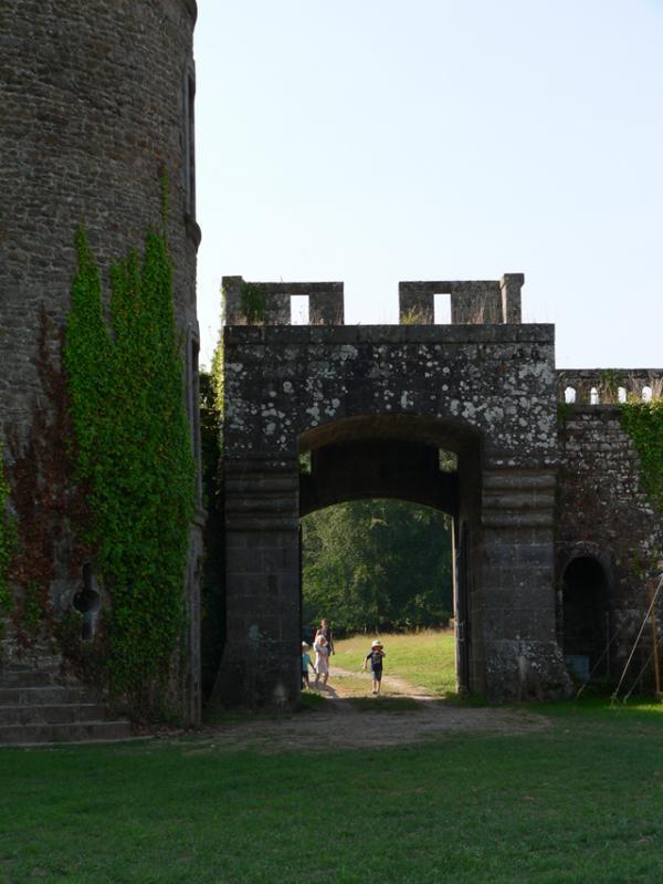 Entrée du château de Landal