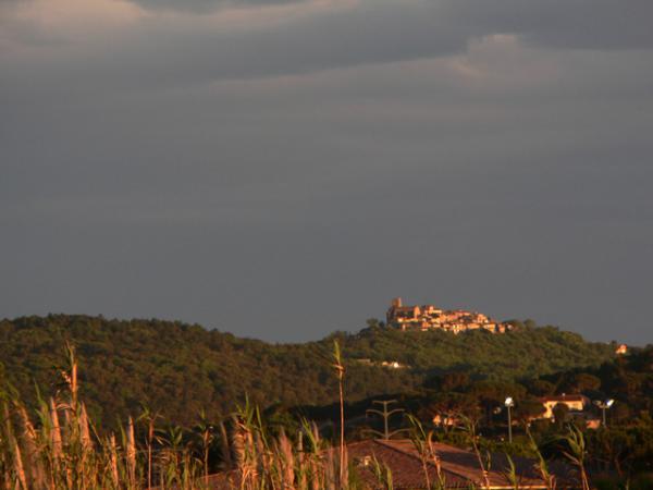 Le village de Gassin dans le Var