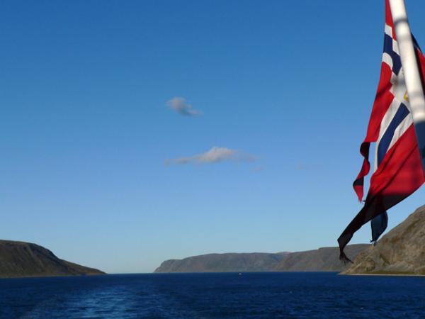 Le long des côtes norvégiennes...