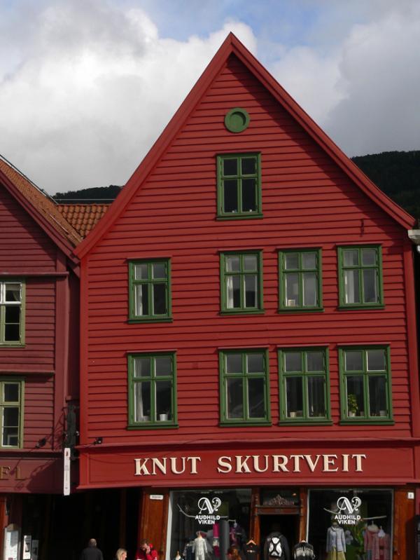 Dans le vieux Bergen
