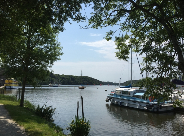 Le port fluvial de la Roche-Bernard