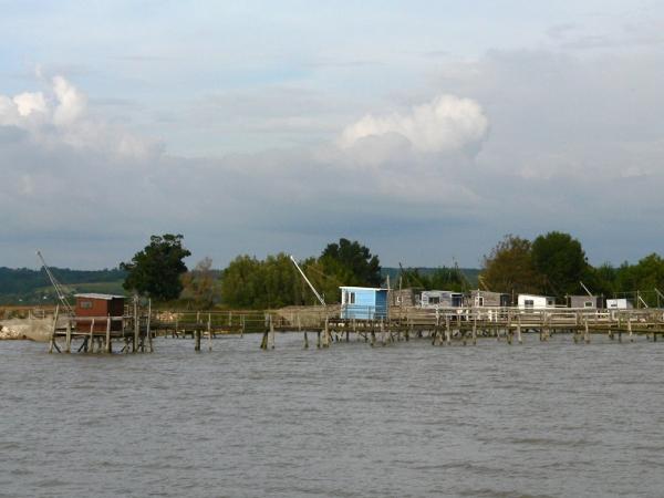 Sur les bords de la Gironde