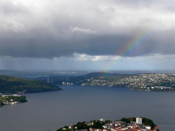 Arc en ciel norvégien
