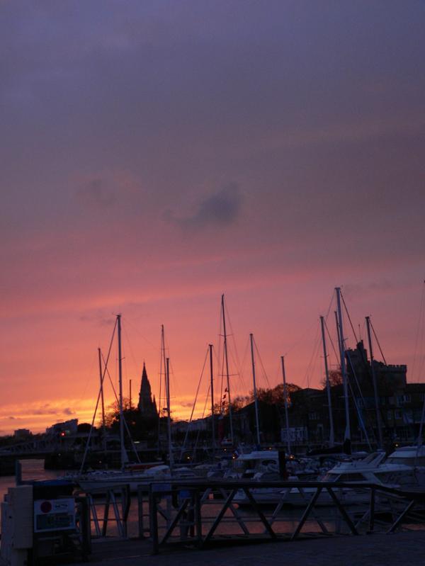 Soirée à La Rochelle