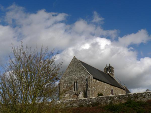L'église de Saint-Georges de Gréhaigne (35)