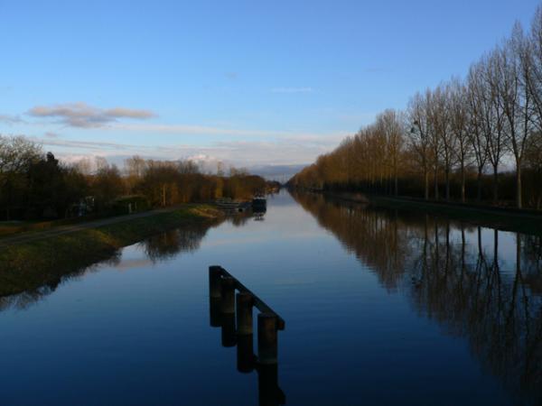 Canal au pays de la Baie de Somme
