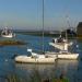 Grande marée- Le port du Vivier sur Mer