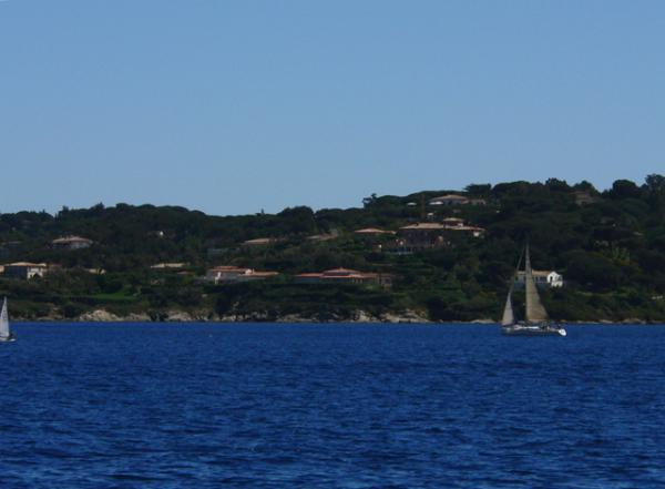 Dans le golfe de Saint-Tropez